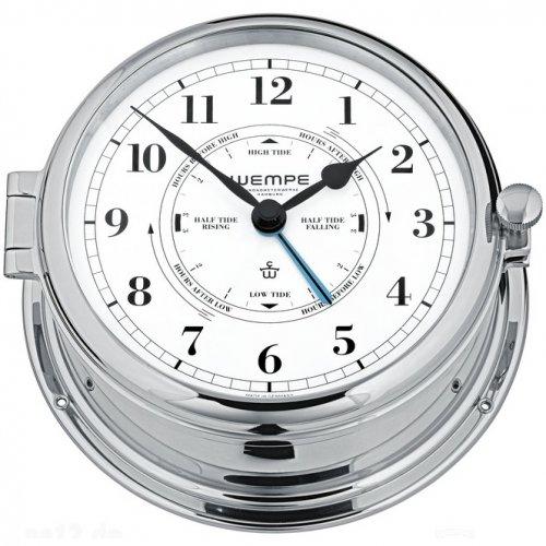 tide clock chrome plated - Tide Clock