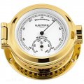 WEMPE Thermometer/Hygrometer Combination 120mm Ø (NAUTICAL Series) Thermometer/hygrometer brass with white clock face
