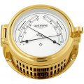 WEMPE Comfortmeter 140mm Ø (REGATTA Series)  Comfortmeter gold plated with white clock face