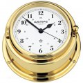 WEMPE Quartz Ship Clocks 150mm Ø (BREMEN II Series) Quartz ship clock brass with Arabic numerals