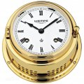 WEMPE Mechanical Bell Clock 150mm Ø (Bremen II Series) Bell clock brass with Roman numerals