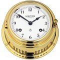 WEMPE Mechanical Bell Clock 150mm Ø (Bremen II Series) Bell clock brass with Arabic numerals
